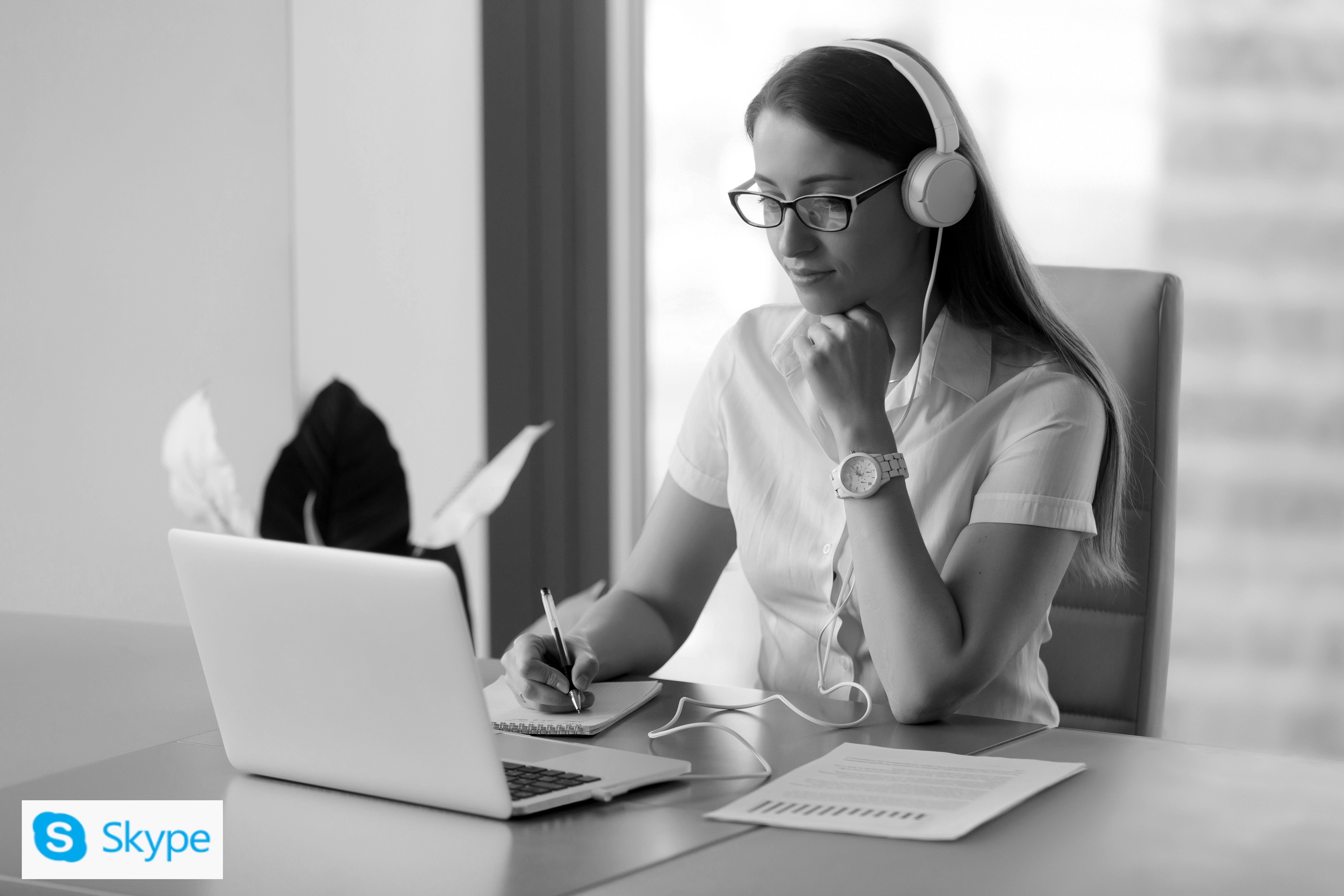 Corporate media training - Skype interview presentation